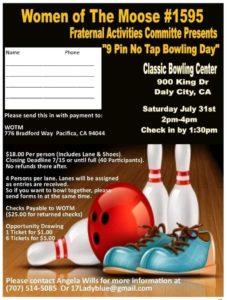 WOTM Bowling @ Classic Bowling Center